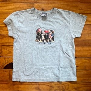 Girl's Fourth of July Tee